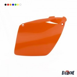 PLAQUES LATERALES KTM SX/SXF/EXC/EXCF 98/03 ORANGE
