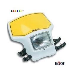 Plaque phare TT BLANCHE