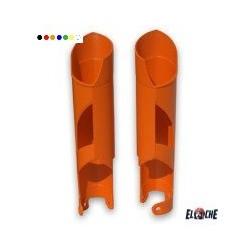 Protections de fourche KTM 08-15 BLANC