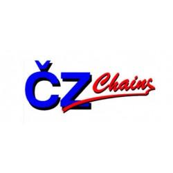 CHAINE RENFORCEE 118 MAILLONS CHROME CZ 525 X-RING SDZ