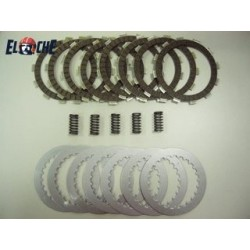 PACK EMBRAYAGE Elche KTM 250 SXF 05/12 (disques lisses, garnis, ressorts)