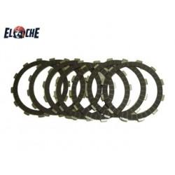 Kit de disques d'embrayage Elche KTM 250 EXC 02/03 &05 400 EXC 02 & 07 450 EXC 04/09 500 EXC 12