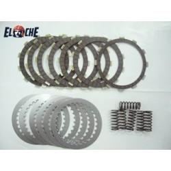 Kit de disques d'embrayage & RESSORT Elche XR 650 R LIQ 00/07