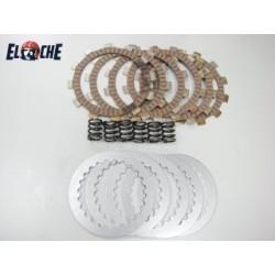 Kit de disques d'embrayage & RESSORT Elche KTM 65 SX 2009/2016