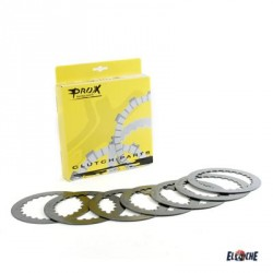 Jeu de disques d'embrayage lisses Prox de HONDA CRF250R de 2004/2018 + KTM250SX-F 06-12