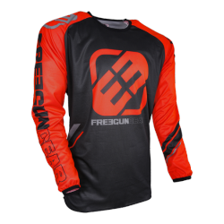 Maillot de cross orange 2018 Freegun