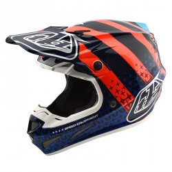 Casque Troy Lee Designs SE4 Composite Team Edition Navy