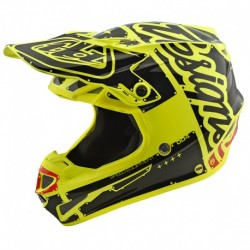Casque Troy Lee Designe SE4 en Polyacrylite rouge