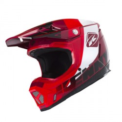 Casque cross Kenny performance rouge